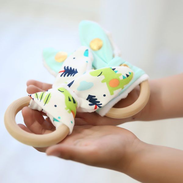 Mamaura Anillo dentición conejito
